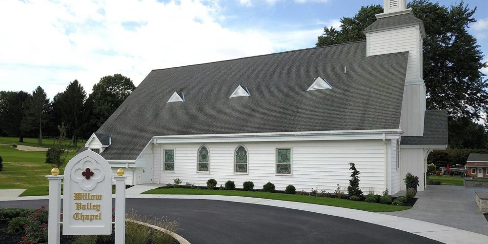 New location of the Willow Valley Chapel